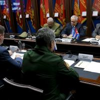 Russian Defence Minister General of the Army Sergei Shoigu had a meeting with Vice President of Council of Ministers of Cuba Ricardo Cabrisas Photo - Russia MOD