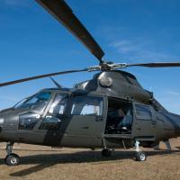 Os helicópteros AS 365 K-Pantera integram a frota do Exército Brasileiro há 26 anos. Agora, passam por um programa de modernização que estenderá sua vida útil em 25 anos. [Foto: Exército Brasileiro]
