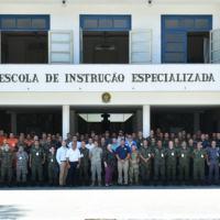 Foto Oficial do Estágio de Descontaminação de Múltiplas Vítimas. Foto: Sd Yago Souza