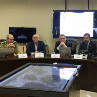 O ministro da Justiça, Eugênio Aragão participou de uma reunião  para analisar ações de segurança para os Jogos Olímpicos e Paralímpicos Rio 2016 - Foto - Agência Brasil