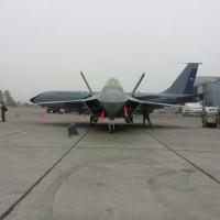 Lockheed Martin F22 Raptor o avião discreto - stealth - da USAF Foto - DefesaNet