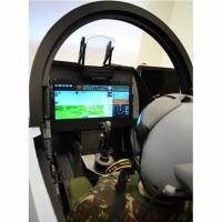 O WAD no cockpit do Gripen NG Foto - AEL Sistemas