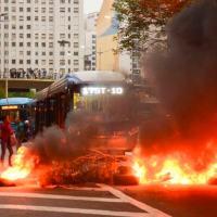 Ações de bloqueio realizadas na cidade de São Paulo. Com poucos recursos consegue tumultuar bastante a vida da cidade