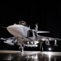 Gripen E view presented 18 MAY 2016.