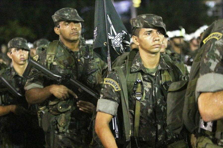 b9f97b2b77331 DefesaNet - TOA - EB comemora Dia da Arma de Infantaria com ...