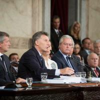 Presidente Macri apresenta o Relatório o Estado del Estado na sexta-feira, 03 Junho 2016. Foto - Casa Rosada