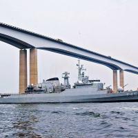 Fragata 'União' será um dos meios utilizados pela Marinha do Brasil nos Jogos Olímpicos - Foto: MB