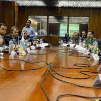 Reunião Ministerial Brasil-Argentina em Brasília. Foto: Tereza Sobreira/MD