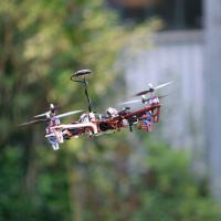 Em anos recentes drones se tornaram progressivamente populares e acessíveis Foto -   Black Bee Drones / UNIFEI