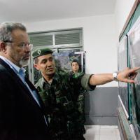 Ministro da Defesa Raul Jungmann visita Centro de Operações do CDS Maracanã 20/07/2016, Rio de Janeiro - RJ Foto - MD