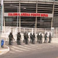 Força Terrestre Componente também realizou exercício em Salvador para a segurança dos Jogos , no dia 24 de julho - Foto:6ª RM