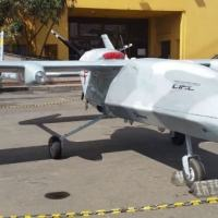 The Helicol IRIS UAV prototype being developed by the Colombian Air Force and the Colombian Aeronautical Industry Corporation. (Photo: Erich Saumeth/Diálogo) Colombiana da Indústria Aeronáutica. (Foto: Erich Saumeth/Diálogo)