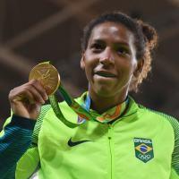 É ouro! A 3ªº Sgt Rafaela Silva, atleta da Marinha faz história e é campeã dos Jogos Olímpicos Rio 2016