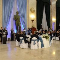 On August 1st, Argentine President, Mauricio Macri, opens a new stage in the relationship between the government and the Armed Forces during the Comradeship Dinner held at Ministry of Defense headquarters in Buenos Aires. (Photo: Argentine Ministry of Defense)