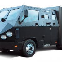 Carro-forte blindado para o transporte de agentes e tropas.