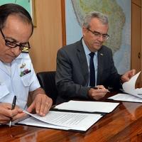 MD e UnB firmaram parceria para a execução de pesquisas e ações sobre sanidade, defesa alimentar e biossegurança - Foto:Tereza Sobreira/MD