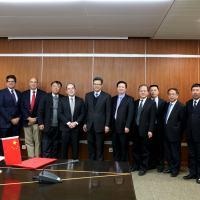 Eletronuclear e CNNC assinaram memorando de entendimento na sede da empresa chinesa