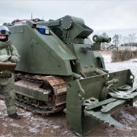 Russian combat robot Nerehta