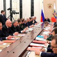 Military-Industrial Commission meeting and plans Military Expansion until 2025 Photo - Kremlin
