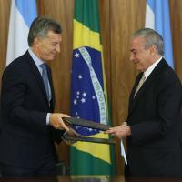 Declaração conjunta presidencial por ocasião da visita de Estado do Presidente Mauricio Macri a Brasília, em 07FEV2017. Foto Agencia Brasil