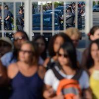 """Imaginemos que a tática das """"paisanas"""" venha a ser adotada em todo o país, como já acontece no Rio de Janeiro. Na foto no QG da PM Espírito Santo. Foto ABR"""