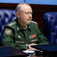 Como Vice-Ministro da Defesa da Rússia Alexander Fomin conduz reunião com adidos militares em Moscou, 08 FEV 2017. Foto - Russia MIL