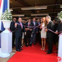 Inauguração da fábrica da Brinquedos Estrela, 07FEV2017, em Hernandarias, área urbana da Ciadade del Leste.