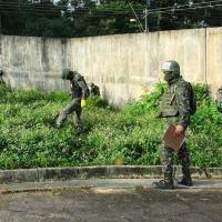 Foram vistoriados dez presídios de cinco estados do Brasil que solicitaram o apoio das Forças; 271 celulares foram recolhidos na operação