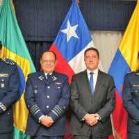 Brasil, Equador, Chile e Colômbia vão trocar informações sobre A-29 - foto: FAB