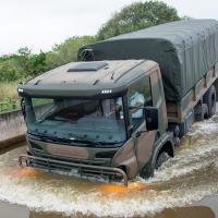 Scania leva caminhão 6x6 para feira internacional de segurança e defesa