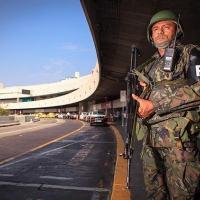 Aproximadamente 500 militares da FAB estavam nas ruas do Rio para realizar policiamento durante os Jogos Olímpicos e Paralimpíada em 2016 - Foto: FAB