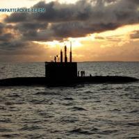 O submarino AMUR 1650 similar ao AMUR 950 só que com maior deslocamento para acomadar mais combustível e torpedos.  Foto - AMUR