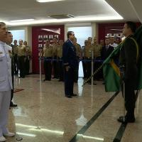 O Contra-Almirante Nelson Nunes da Rosa, da Marinha do Brasil, assumiu a chefia do Estado-Maior Conjunto, e o Brigadeiro Intendente Mauro Fernando Costa Marra, da Força Aérea Brasileira (FAB), assumiu o cargo de Chefe do Departamento de Gestão e Ensino
