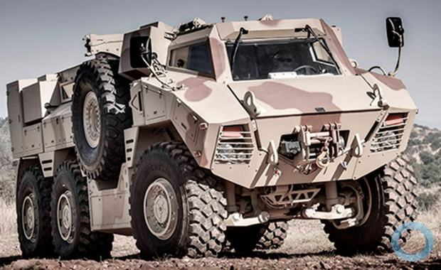 Vehicle N35 produced by NIMR in Arab Emirates