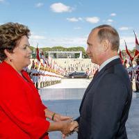 Visita de Vladimir Putin a Brasília em Junho de 2014. Foto  Planalto