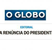 As organizações da Família Marinho passaram para um ataque inclemente não ao governo mas ao Brasil.  Uma intimidação à reunião do presidente com os militares marcada para as 17:30 de sexta-feira.
