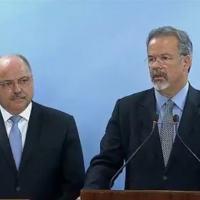 Ministros Raul Jungmann, Deesa e Sergio Etchegoyen, GSI.