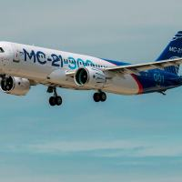 O voo do MC-21-300, competidor do B737 e A320, traz as esperanças de renascimento da indústria aeronáutica civil russa