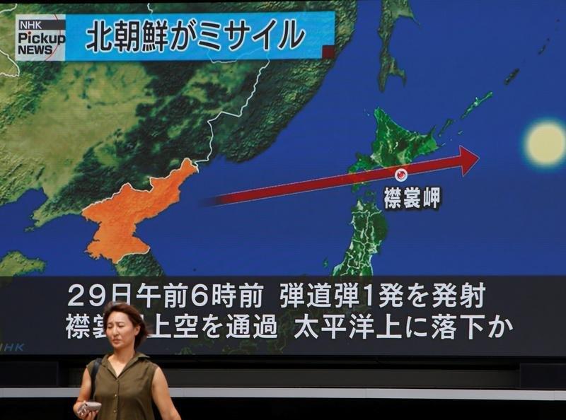 Coreia do Norte ameaça os EUA e o seu 'seguidor cego' Japão