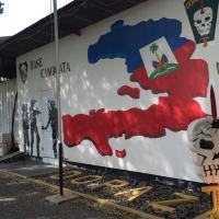 G1 entrou na base da tropa de elite do Exército no Haiti, que realizou os confrontos com as gangues entre 2004 e 2007 (Foto: Tahiane Stochero/G1)
