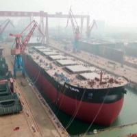 A China lançou, no dia 19 de Setembro, o Ore Tianjin, navio mineralero, com deslocamento de 400.000 toneladas, similar aos Valemax brasileiros que torpedeou sem dó.