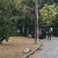 Militares monitoram possível rota de fuga da Rocinha - Foto: Agência Força Aérea / FAB