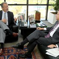 A reunião entre Jungmann e Lamachia ocorreu no Gabinete do presidente da OAB