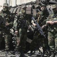 Tropas Spetsnaz em Luhansk, Donbass