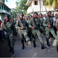 Haiti - Após 22 anos ressurge o Exército