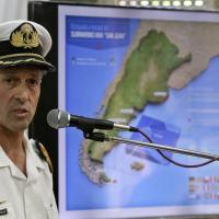 Porta-voz da Marinha Argentina, Enrique Balbi