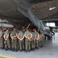 Cadetes participaram de visita de estudos à Amazônia -  Fonte: Ala 8 / Agência Força Aérea - FAB