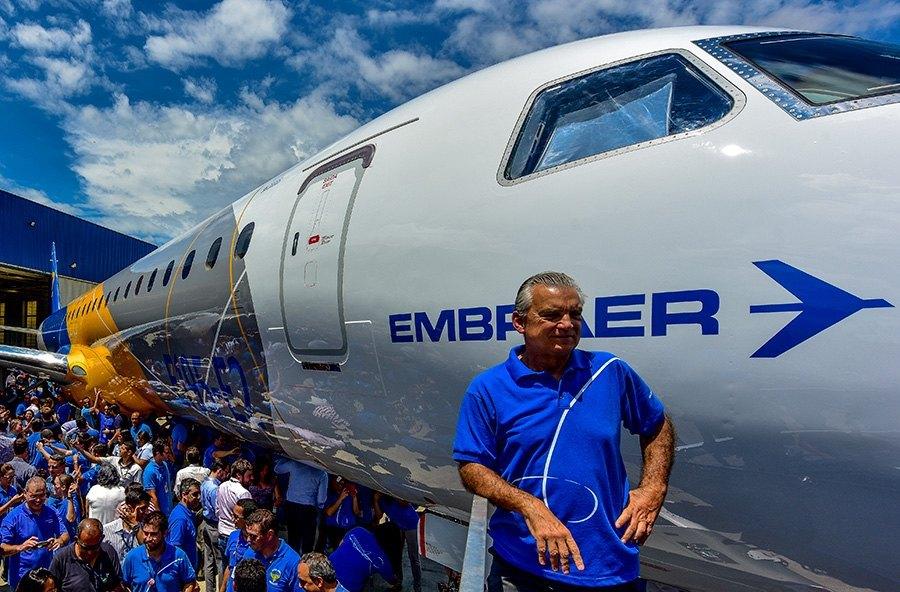 Maior acionista individual da Embraer reduz participação na empresa