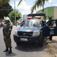 Militares da FAB realizam ações de patrulha a pé e motorizada em Parnamirim - Foto: ALA 10 / FAB