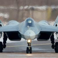 Caça russo Su-57 de 5ª geração é visto na Síria